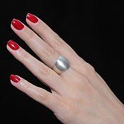 Украшения handmade. Livemaster - original item Minima series ring made of brushed 925 sterling silver. Handmade.