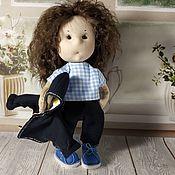 Портретная кукла ручной работы. Ярмарка Мастеров - ручная работа Портретная кукла: авторская кукла. Handmade.