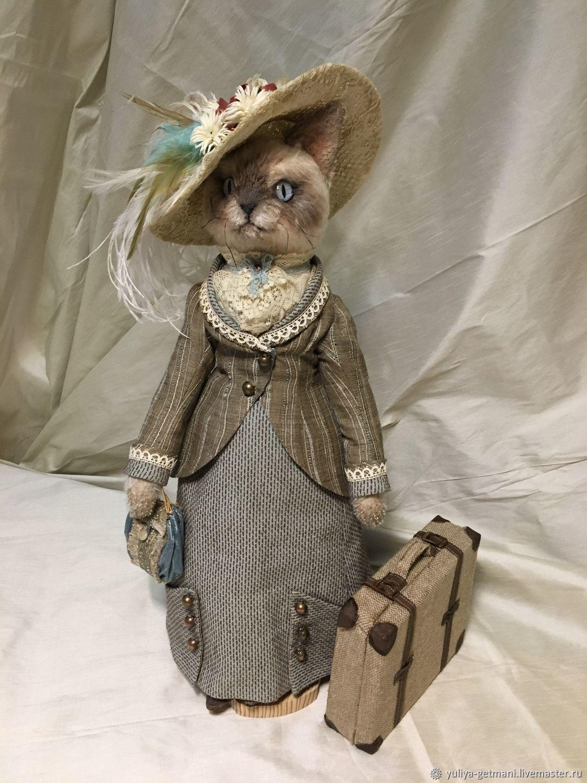 Cat Teddy . Kitty, Princess of Siam, Dolls, Moscow,  Фото №1