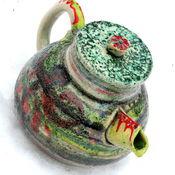 """Посуда ручной работы. Ярмарка Мастеров - ручная работа Чайник """"Манускрипт"""". Handmade."""