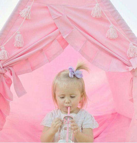 Детская ручной работы. Ярмарка Мастеров - ручная работа. Купить Детский вигвам  Розовое шебби. Handmade. Розовый, шебби, вигвам