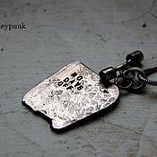 Украшения ручной работы. Ярмарка Мастеров - ручная работа NO DAYS OFF .Кулон из серебра. Handmade.