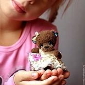Куклы и игрушки ручной работы. Ярмарка Мастеров - ручная работа Анечка (10 см). Handmade.