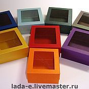Сувениры и подарки handmade. Livemaster - original item The box design paper box. Handmade.
