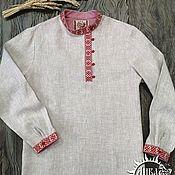 Мужская одежда handmade. Livemaster - original item Kosovorotka city