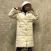 Пальто ручной работы. Ярмарка Мастеров - ручная работа Пальто утепленное женское VENTA. Handmade.