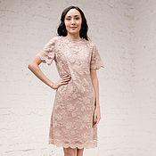 Одежда handmade. Livemaster - original item Chemise dress. Silk and lace. Handmade.