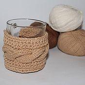 Для дома и интерьера ручной работы. Ярмарка Мастеров - ручная работа Грелка на чашку. Handmade.