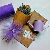 Букеты ручной работы. Ярмарка Мастеров - ручная работа Твой лучший букетик лаванды ( букет лаванды сухоцветов в крафте). Handmade.