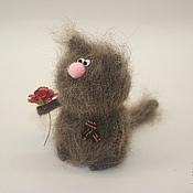 Куклы и игрушки ручной работы. Ярмарка Мастеров - ручная работа Кот Патриот. Handmade.