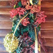 """Картины и панно ручной работы. Ярмарка Мастеров - ручная работа Фитокартина """"Цветочная поляна"""". Handmade."""