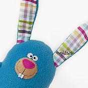 Куклы и игрушки ручной работы. Ярмарка Мастеров - ручная работа Зайчик пузатик. Handmade.