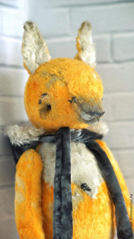 Мишки Тедди ручной работы. Ярмарка Мастеров - ручная работа. Купить Лисёна Сластёна. Handmade. Оранжевый, авторская игрушка