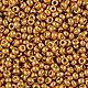 Для украшений ручной работы. Ярмарка Мастеров - ручная работа. Купить Бисер круглый Miyuki цвет 4203 Duracoat Galvanized Yellow Gold, 11/0. Handmade.