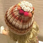"""Работы для детей, ручной работы. Ярмарка Мастеров - ручная работа шапка """"цветная карамель"""". Handmade."""