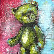 Картины и панно ручной работы. Ярмарка Мастеров - ручная работа Фисташка. Handmade.