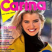 Материалы для творчества handmade. Livemaster - original item Carina Burda 11 1991 (November). Handmade.