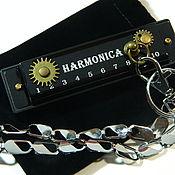"Музыкальные инструменты handmade. Livemaster - original item Copy of Copy of Harmonica steampunk ""HARMONIC"". Handmade."