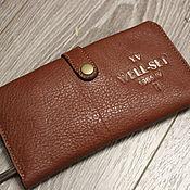 Wallets handmade. Livemaster - original item Wallet women leather. Handmade.