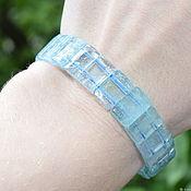 Украшения handmade. Livemaster - original item Natural blue Topaz bracelet. Handmade.
