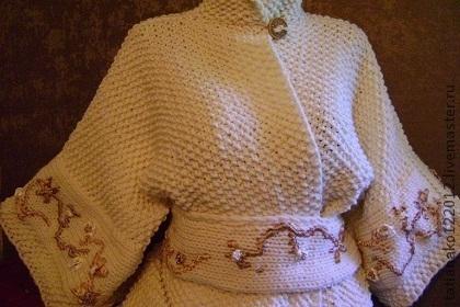 """Верхняя одежда ручной работы. Ярмарка Мастеров - ручная работа. Купить """"Japanese dolls""""пальто авторская ручная работа. Handmade. Бежевый"""