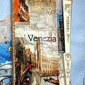 Сумки и аксессуары handmade. Livemaster - original item Card case Venice - the city of lovers. Handmade.