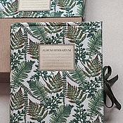 Канцелярские товары handmade. Livemaster - original item Album for Fern herbarium (A4, for 30 plants). Handmade.