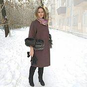 Одежда handmade. Livemaster - original item Winter coat