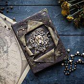 Канцелярские товары handmade. Livemaster - original item Vintage notebook with a lion. Handmade.