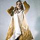 """Верхняя одежда ручной работы. Ярмарка Мастеров - ручная работа. Купить Пальто - свингер """"Капучино"""". Handmade. Пальто"""