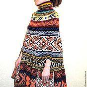 Одежда ручной работы. Ярмарка Мастеров - ручная работа Индейское пончо. Handmade.