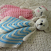 Куклы и игрушки handmade. Livemaster - original item Komforter toy Knitted toy for babies. Handmade.