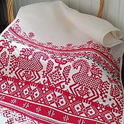 Русский стиль handmade. Livemaster - original item Towel Kargopol, Olonets region. Reconstruction. Handmade.