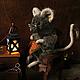 Мишки Тедди ручной работы. Ярмарка Мастеров - ручная работа. Купить Мышка-рукодельница по сказкам Беатрикс Поттер. Handmade. Мышка