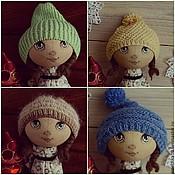 Куклы и игрушки ручной работы. Ярмарка Мастеров - ручная работа Шапочки для кукол. Handmade.