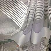 Для дома и интерьера handmade. Livemaster - original item White Tulle with stripes. Handmade.