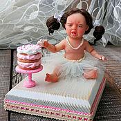Куклы и игрушки ручной работы. Ярмарка Мастеров - ручная работа интерьерная кукла, малышка Капризуля. Handmade.