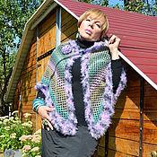 Одежда handmade. Livemaster - original item Poncho: