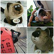 Куклы и игрушки ручной работы. Ярмарка Мастеров - ручная работа кот Проглот. Handmade.