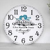 "Для дома и интерьера handmade. Livemaster - original item Copy of Large Wall Clock 19,69"". Handmade."