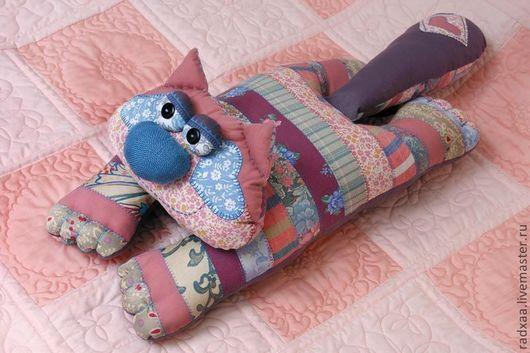 Текстиль, ковры ручной работы. Ярмарка Мастеров - ручная работа. Купить Подушка-кот.. Handmade. Подушка, подарок на любой случай