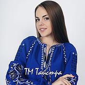 Одежда ручной работы. Ярмарка Мастеров - ручная работа Бохо блуза вышитая женская, этно стиль  Vita Kin,Bohemia. Handmade.