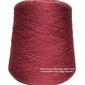 Материалы для творчества handmade. Livemaster - original item Yarn: Merino extrafine. The color is light Burgundy.. Handmade.
