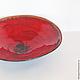 Тарелки ручной работы. Заказать Тарелка керамическая Красный мак - 4. NIBOQUA авторская керамика. Ярмарка Мастеров. Мак