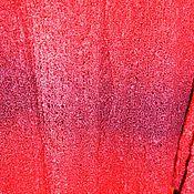 Одежда ручной работы. Ярмарка Мастеров - ручная работа Вязаное красное платье. Handmade.