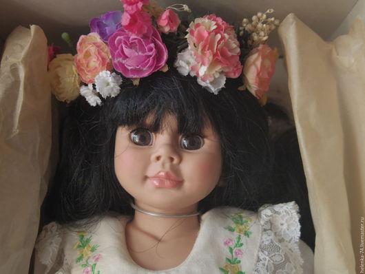 Винтажные куклы и игрушки. Ярмарка Мастеров - ручная работа. Купить Филиппинская лимитированная кукла Wikolia от Jakobsen. Handmade. Ярко-красный
