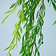 Материалы для флористики ручной работы. Р002 Искусственная лиана. Анастасия Flower-Stamens. Ярмарка Мастеров. Искусственная зелень, зелень в букет