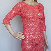 Одежда handmade. Livemaster - original item Dress Bordeaux. Handmade.