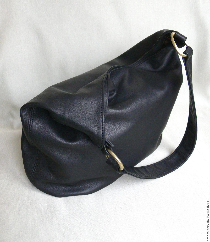 05fb5e45e7dc Сумка кожаная женская черная мод. 020 – купить в интернет-магазине ...