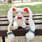 """Куклы и игрушки ручной работы. Ярмарка Мастеров - ручная работа Войлочная игрушка """"Зайчик Ledgem"""". Handmade."""